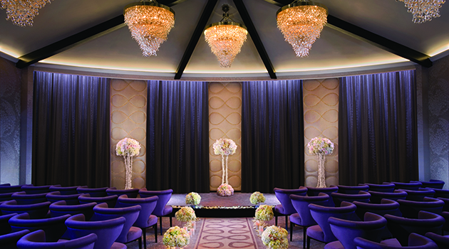 Login to the wedding chapel at aria for Aria wedding chapel
